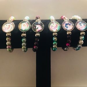 Other - Designs By Sye Unicorn Beaded Bracelets